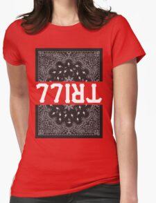 TRILL Bandana Womens Fitted T-Shirt