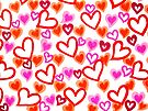 Doodle Hearts by Sammy Nuttall