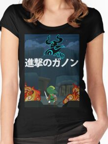 Attack on Ganon Women's Fitted Scoop T-Shirt