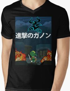 Attack on Ganon Mens V-Neck T-Shirt