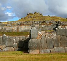 Inca stonework by Maggie Hegarty