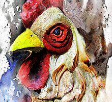 The Peddler's Rooster by suzannem73
