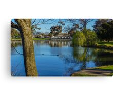Peaceful Lake Weeroona - Bendigo, Victoria Canvas Print