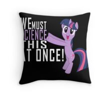 Science Poster Throw Pillow