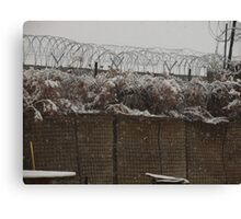 The Snow of War Canvas Print