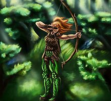 Elven Archer  by Xanthestar