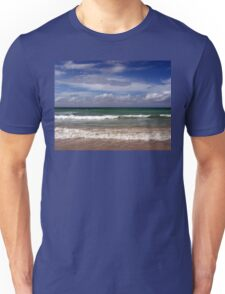 Water, Waves, Sand (O0715wws) Unisex T-Shirt