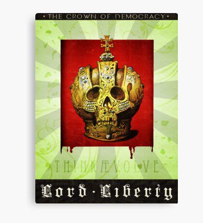 Lord Liberty Canvas Print