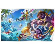 Pool Party Mundo - League of Legends Poster