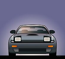 Modern Japanese Icons Series Toyota Celica  GT-Four All-Trac Turbo ST185 by Tom Mayer
