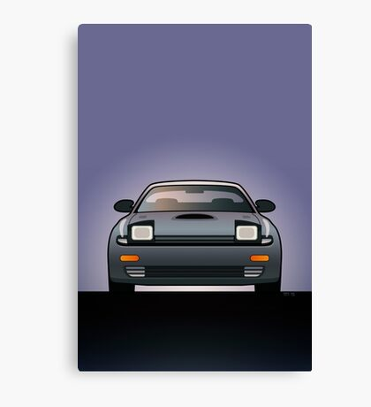 Modern Japanese Icons Series Toyota Celica  GT-Four All-Trac Turbo ST185 Canvas Print