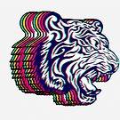 3D Tiger by ea-photos