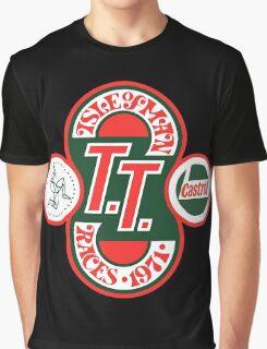 Isle Of Man TT Races 1971 Graphic T-Shirt