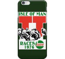 Isle Of Man TT Races 1976 iPhone Case/Skin