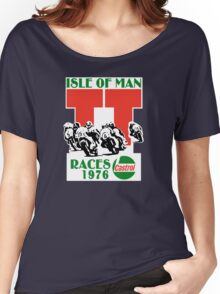Isle Of Man TT Races 1976 Women's Relaxed Fit T-Shirt