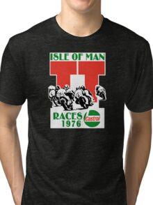 Isle Of Man TT Races 1976 Tri-blend T-Shirt
