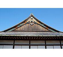 Nijo Castle Rooftop Photographic Print