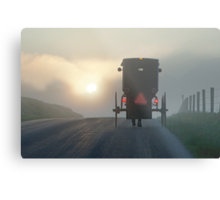 Into the Morning Mist Metal Print