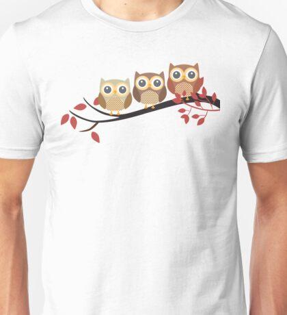 3 owls Unisex T-Shirt