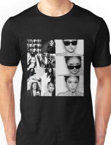 Nina Dobrev in Black and White Unisex T-Shirt