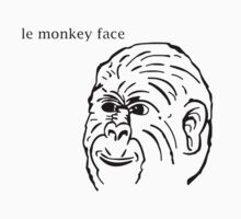 Le' Monkey Face by Lolcakes