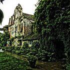 The Garden of Scotney Castle by hans p olsen