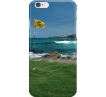 18th Hole, Sculptures By The Sea, Australia 2011 iPhone Case/Skin