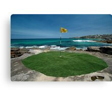 18th Hole, Sculptures By The Sea, Australia 2011 Canvas Print