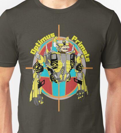 Optimus Primate Target Unisex T-Shirt
