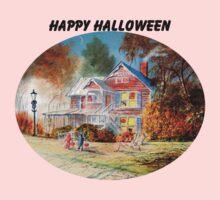 Halloween Trick Or Treat One Piece - Long Sleeve