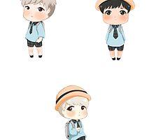 Kinder Rappers by yuniizu