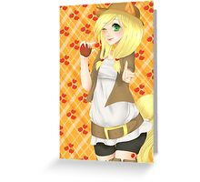 Apple Jack Greeting Card