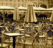 Old cafe... by Alex Mironov