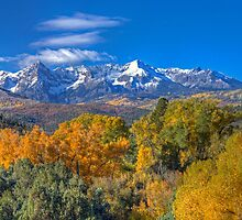 San Juans Panorama, Autumn '12 by rjcolby