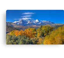 San Juans Panorama, Autumn '12 Canvas Print
