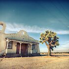 Mojave Desert Church by Firesuite