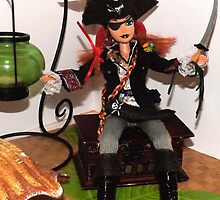 PIRATE DOLL: Grace O'Malley. by deviantdolls