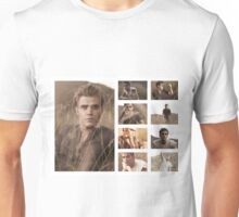 Paul Wesley grass photoshoot Unisex T-Shirt