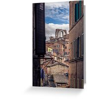 Siena Landscapes Greeting Card