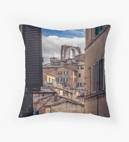 Siena Landscapes Throw Pillow