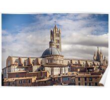 Siena Landscape 2 Poster