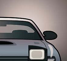 Modern Japanese Icons Series Toyota Celica  GT-Four All-Trac Turbo ST185 (Split) by Tom Mayer