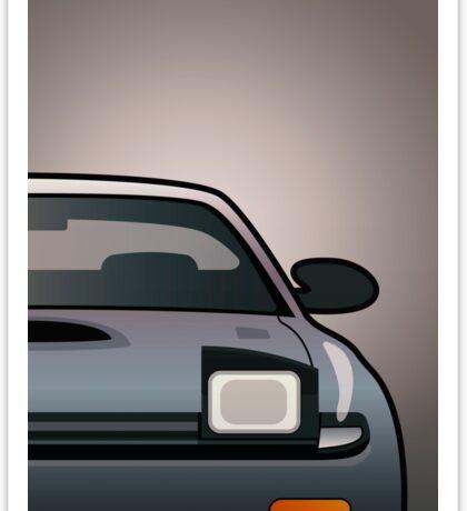 Modern Japanese Icons Series Toyota Celica  GT-Four All-Trac Turbo ST185 (Split) Sticker