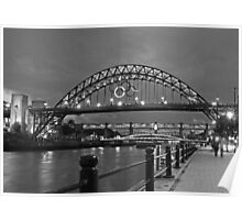 Tyne Bridge Newcastle Poster