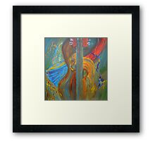 P(S)MS - Percussion, Strings and Musical Spill Framed Print