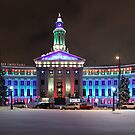 Denver, Colorado Winter Panorama by Ryan Wright