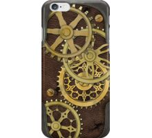 Leather and Brass Steampunk iPhone Case/Skin