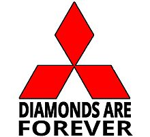 Diamonds are Forever Photographic Print