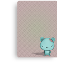 kawaii bear  Canvas Print