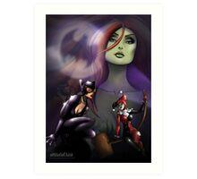 Gotham Sirens Art Print